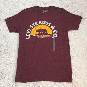 LEVI STRAUSS & CO. 'California Bear Flag' T-Shirt.